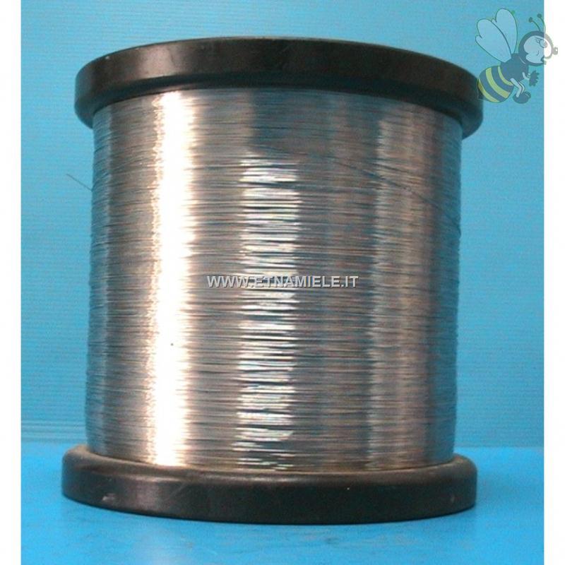 Filo di ferro zincato in bobina peso 14 kg for Ferro usato al kg