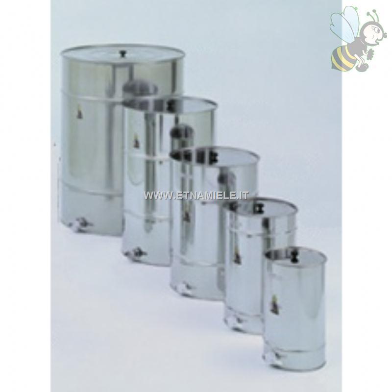 Maturatore in acciaio inox per alimenti con ghiera 1000 kg for Prezzo acciaio inox al kg