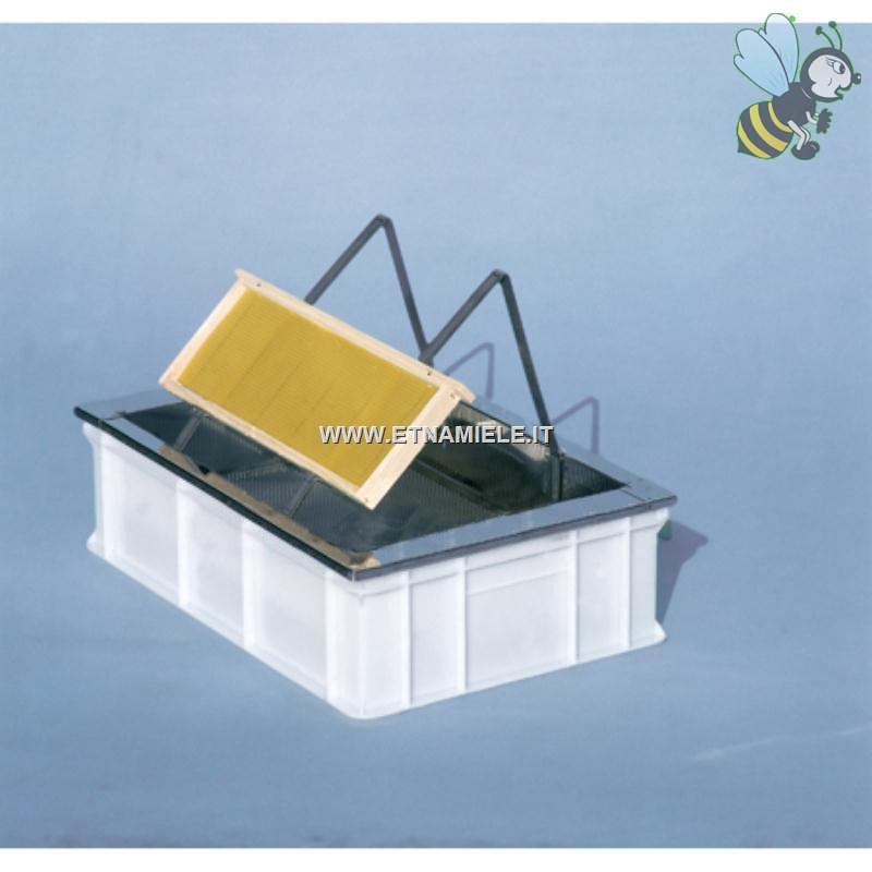 Banchetto per disopercolare da tavolo con vasca in for Vasca in plastica per tartarughe